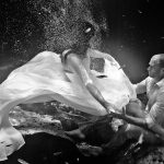 amazing trash the dress photography in cozumel