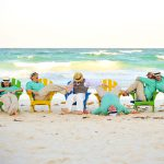 artistic group wedding photography in cozumel