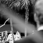 artistic wedding photography in cozumel father close